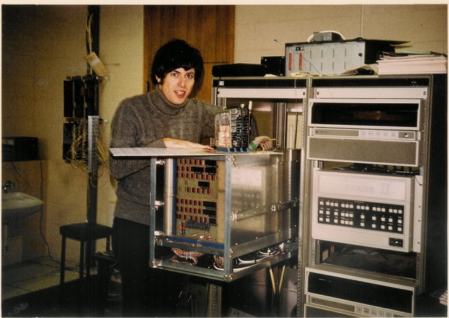 David Abramson as a graduate student